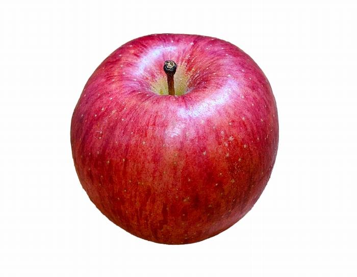リンゴの切り抜き