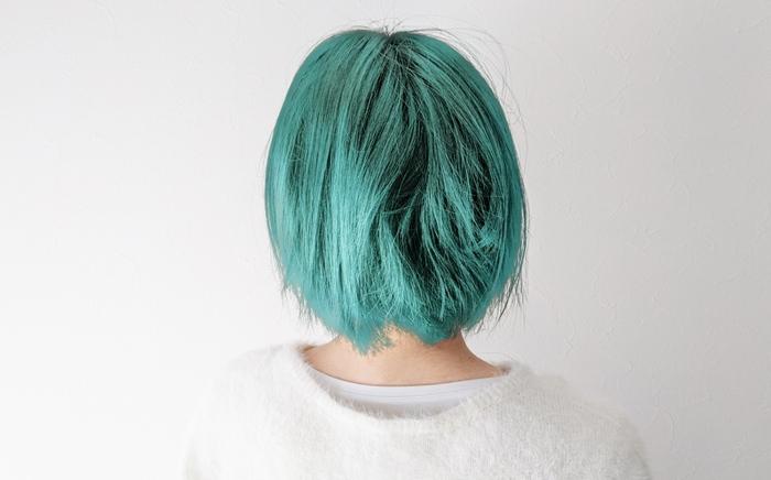 色を変えた髪の毛を被せてみた
