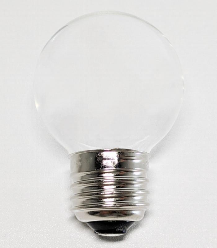 拡大した電球写真