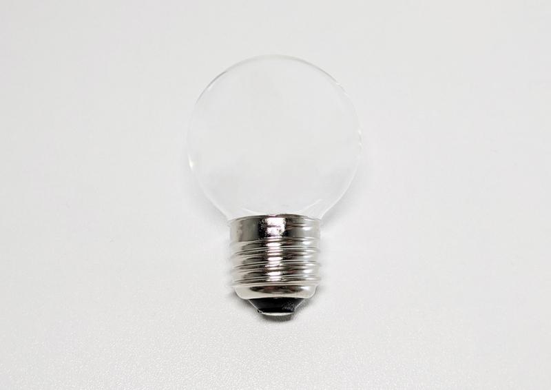 電球を少し加工した写真