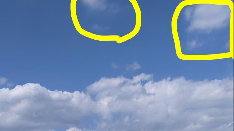 不要な雲を消す