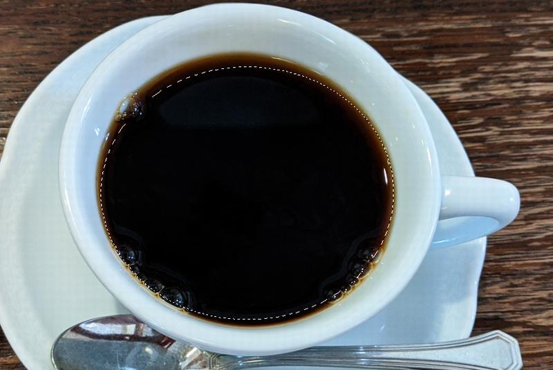 コーヒー部分だけを選択範囲